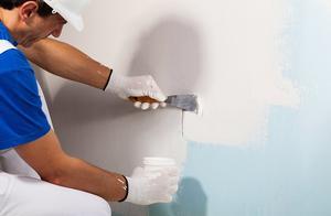 黑墙装饰板 石膏板上可不可以直接贴墙纸