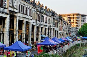 开平赤坎古镇:300多年的历史,民国中西合璧建筑