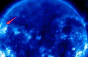 太阳表面出现黑色不明飞行物,科学家一身冷汗,它会是什么?