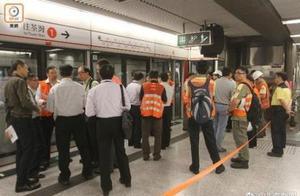 香港中环地铁相撞 2列列车车长受伤
