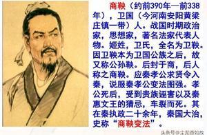 带你走近《资治通鉴》——商鞅变法与秦国崛起