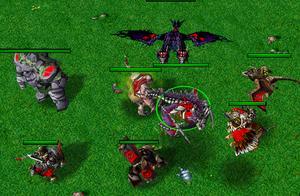 魔兽争霸3飞行兵种分析,冰龙真的是单体最强吗