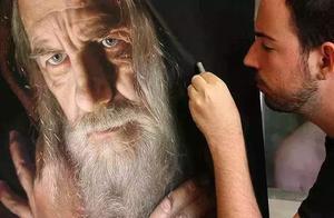 从无名小卒到色粉画大师,30余年画出惊艳世界的粉笔画作!厉害