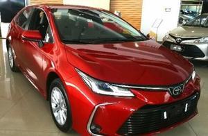 一汽丰田全新卡罗拉到店实拍!配置更加丰富,价格是否有惊喜?