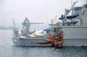日本一艘扫雷艇与货船相撞,受损严重无法自主航行