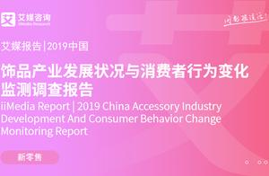 2019中国饰品产业发展状况与消费者行为变化监测调查报告