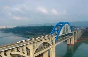 成贵铁路四川段今日开通运营