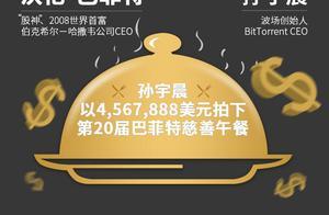 """互联网大佬群怼孙宇晨""""骗子"""",巴菲特午餐帮割韭菜?"""
