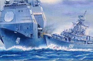 无耻美舰又闯南海,中国海军不排除再撞美舰