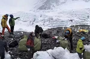 2周清理3吨垃圾,带回4具遗体,珠峰又上热搜了!