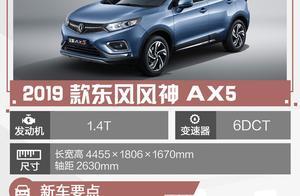 东风风神AX5正式上市 售8.59-10.59万元