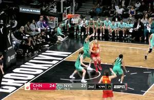 韩旭自由人首秀贡献19+5 自由人下半场逆转中国女篮