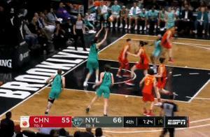 韩旭WNBA首秀得19分 自由人胜中国女篮