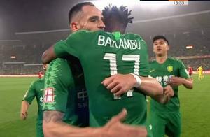 中超-巴坎布两球+失空门傲骨传射 国安3-0深圳取九连胜
