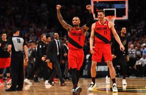 篮球——NBA季后赛:开拓者晋级西部决赛
