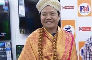 哈哈哈!雷军身穿印度传统服饰,网友:是雷长老吗?