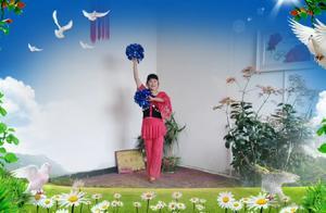 宁夏梅花傲雪广场舞《我要上春晚》