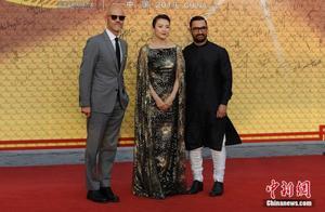 亚洲影视周开幕 各国影视明星亮相红毯仪式