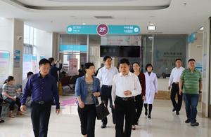 北京领创精准医疗健康产业投资公司总经理盛紫瑾一行到滕州市妇幼保健院进行考察