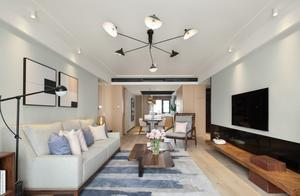 130平米的北欧风格,原来四居室还可以这样装修!-太湖雍华府装修