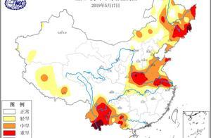 国家气候中心:我国多地旱象严重,吉林云南部分地区出现特旱