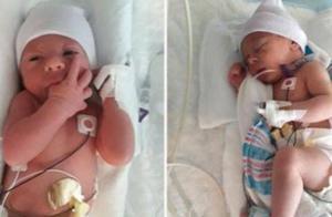 女子肚子疼痛难忍以为是食物中毒,送到医院后不久,生下一名男婴