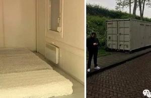 订Airbnb踩雷!花860元住流动厕所+集装箱
