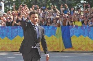 """乌克兰""""演员总统""""就职后解散议会"""