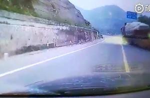 男子不顾危险勇拦滑行大货车 警方:将为其申请奖励
