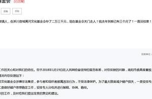 河南公募基金会黄河文化涉嫌非法集资,多地办事处被立案调查