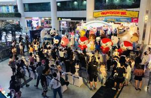 儿童节到天河路商圈找萌物!30只吉祥物要在一起搞嘉年华