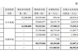 去年爆亏11亿,上海莱士称今后再也不炒股了