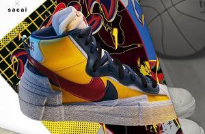发售店铺来了!Sacai x Nike Blazer Mid 入手难度不小!