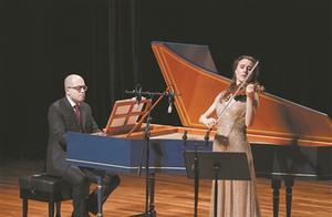 羽管键琴和小提琴对话 给高素质观众带来心灵共鸣