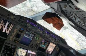 广州飞北京航班降落时遭遇冰雹,玻璃裂痕密布,乘客:像坐过山车,吃了速效救心丸