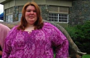 体重360斤的胖妞,成功减肥180斤,减肥前后判若两人!