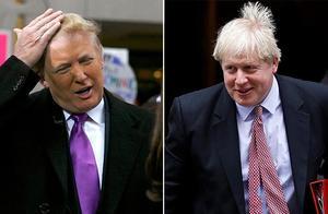 """尴尬!特朗普""""英国之行""""邀约鲍里斯·约翰逊会谈,被拒了"""