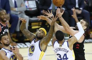 篮球|NBA季后赛总决赛第三场:勇士负猛龙