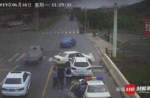 快讯|男子因感情纠纷杀人逃窜 被抓获前服毒欲自杀