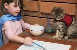 英国小女孩从小就内向自闭,但画画天赋秉异,画作卖出百万天价