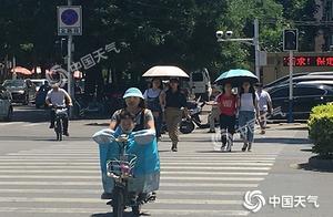 """今明两天河北中南部""""高烧""""不退 石家庄局地最高39℃"""