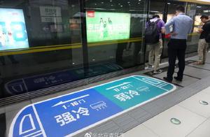 """北京地铁6号线试行""""同车不同温""""你喜欢多少温度的车厢?"""