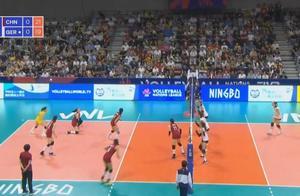 世联赛-中国女排3-0轻取德国 朱婷休战张常宁12分