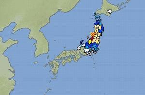 日本本州西岸近海发生6.8级地震,气象厅发出海啸预警