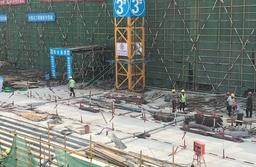 探访烟台城发城市广场项目:最快区域已施工至八层