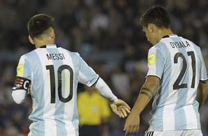 球风不合?梅西与迪巴拉已经2年未在国家队同时首发