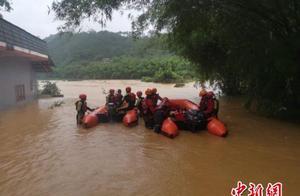广西梧州遭强降雨袭击 直接经济损失超1300万元