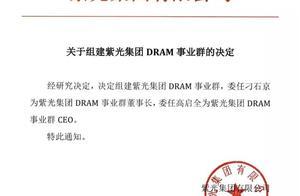 紫光集团组建DRAM事业群 进军内存芯片领域