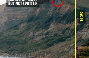 落168米不死?英国狗坠崖奇迹存活45天,胃里的东西令人称奇