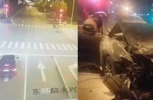 河南永城一女子醉驾玛莎拉蒂追尾宝马轿车:瞬间起火,致2死4伤